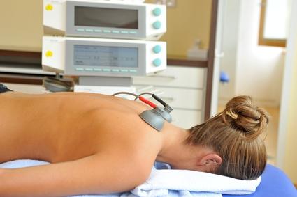 TENS Therapie beim Physiotherapeuten