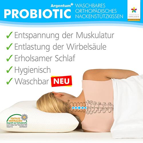 Argenturm Probiotic Nackenstützkissen Testsieger