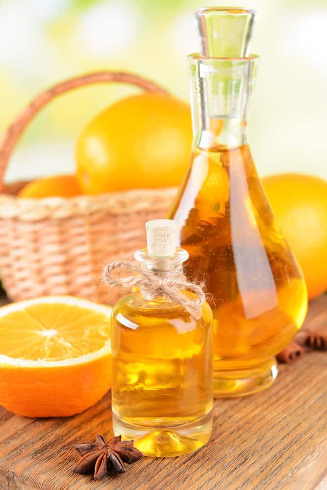 Orangenöl Flasche
