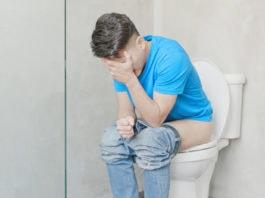 Schmerzen beim Stuhlgang